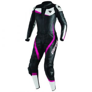 dainese_womens_veloster_two_piece_race_suit_black_fuchsia_white_zoom