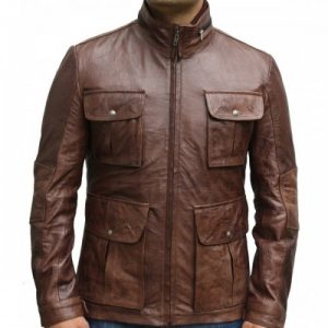Vintage style Jacket for mens slim fit 1-500x505