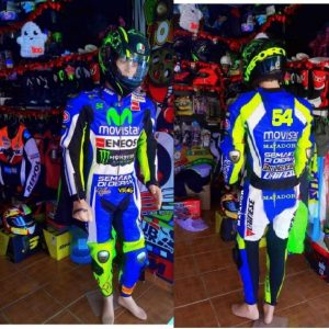 Custom Design Motorbike Leather racing Suit tailor made CE Approved Protection. (Copy)