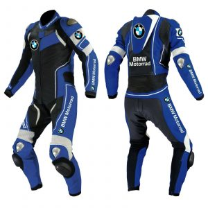 Brand New MotoGp 1 PC Motorbike Leather Racing Suit All Sizes Available