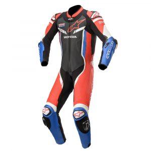 Alpinestar-GP-Pro-V2-Honda-Motorbike-Racing-Leather-Suit-1