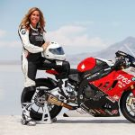 Woman Motorbike leather Suit
